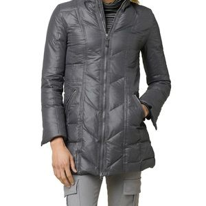 Prana Small/Medium Women's Down Devan Coat Puffer